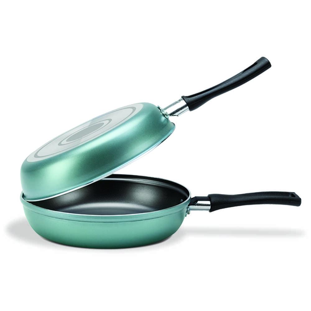 Omeleteira Antiaderente 18 cm Turquesa Brinox Chilli 7013/359