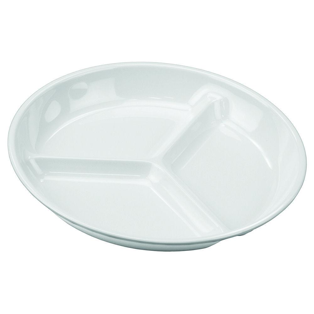 Petisqueira Couvert 19 cm Branco Em Melamina Gourmet Mix GX5407