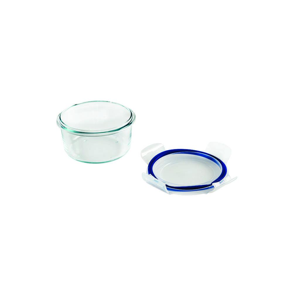 Pote Hermético de Vidro Redondo 420 ml Brinox Lock & Stock 0212/300