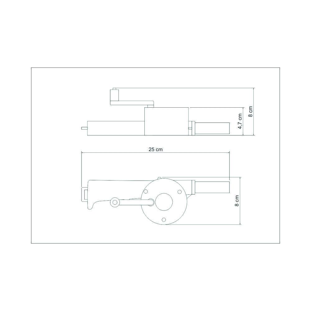 Soprador Manual Para Carvão Churrasqueira e Lareira Tramontina 26479/100