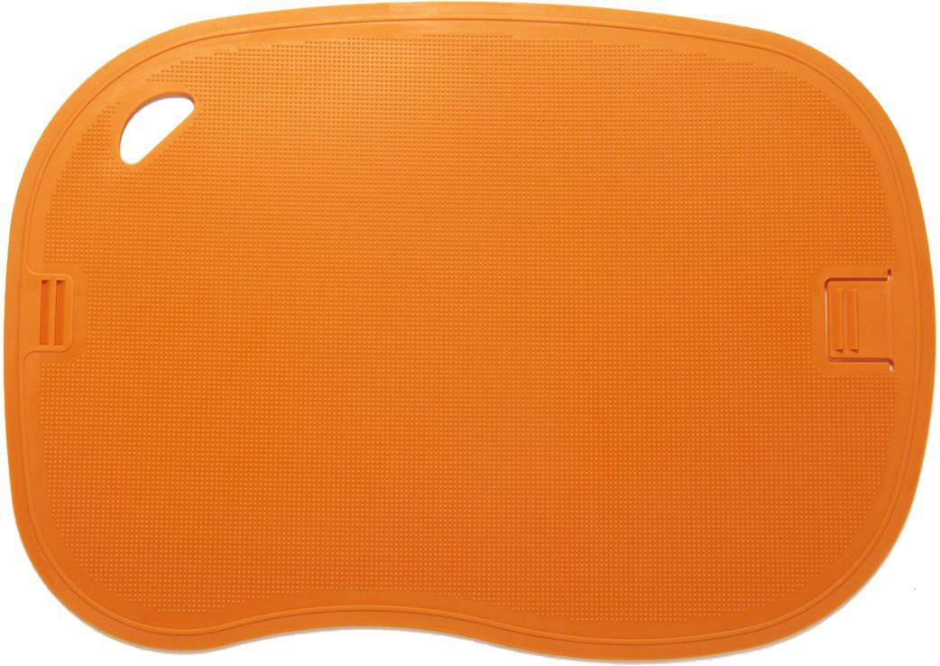 Tabua de Corte Flexivel Antibacteriana GET Essential 35 X 25 CM Laranja GE-TAB1LR