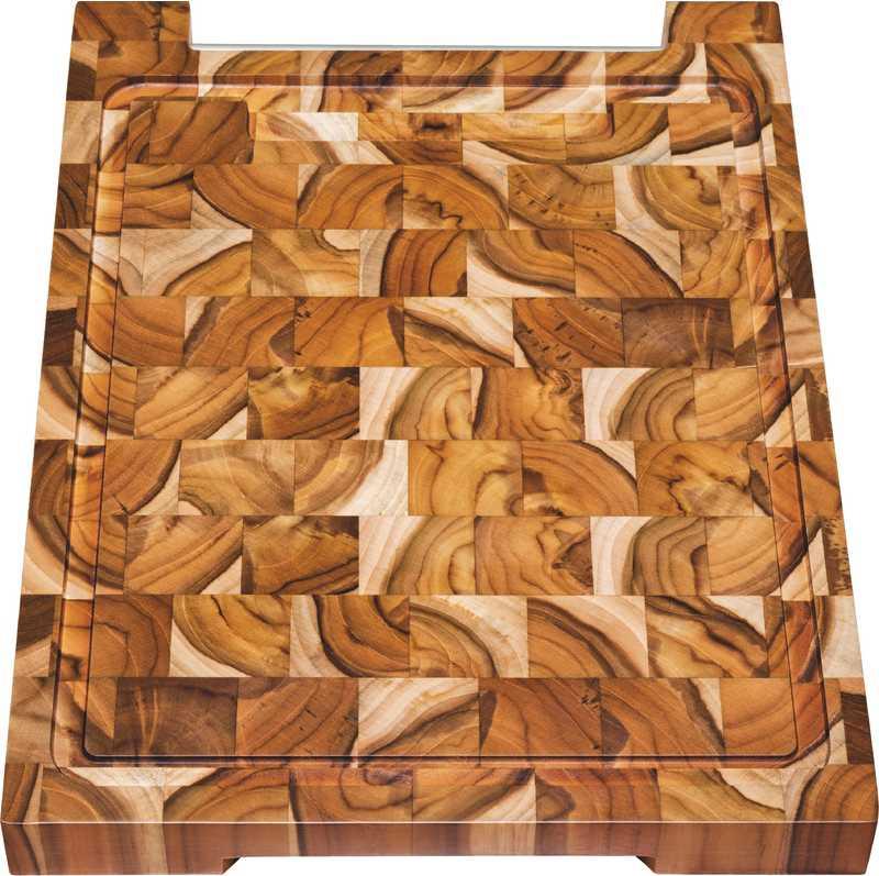 Tábua Para Churrasco em Madeira Invertida Teca Tramontina 48 x 36 cm 10102/050