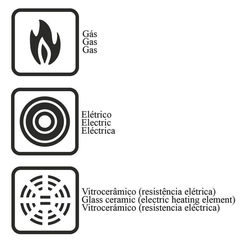 Tapioqueira e Panquequeira em Alumínio Antiaderente Tramontina Napoli 22 cm Preta 20120/022
