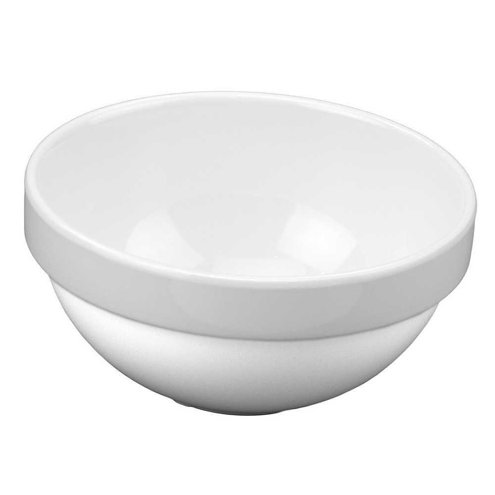 Tigela Mini Bowl Empilhável 250 ml 11 cm Branco Em Melamina 100% Profissional Gourmet Mix GX5408