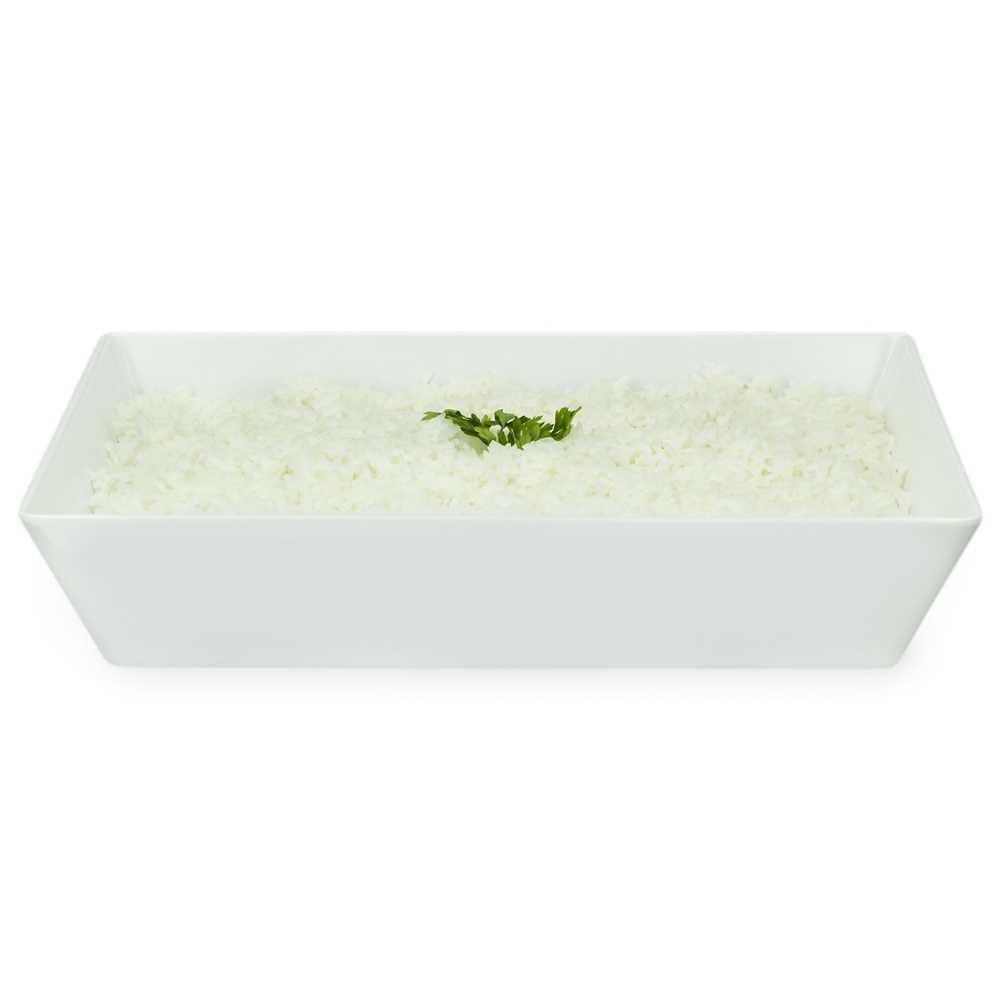 Travessa Buffet 35 X 25 cm 3 Litros Branco Em Melamina 100% Profissional Gourmet Mix GX5390