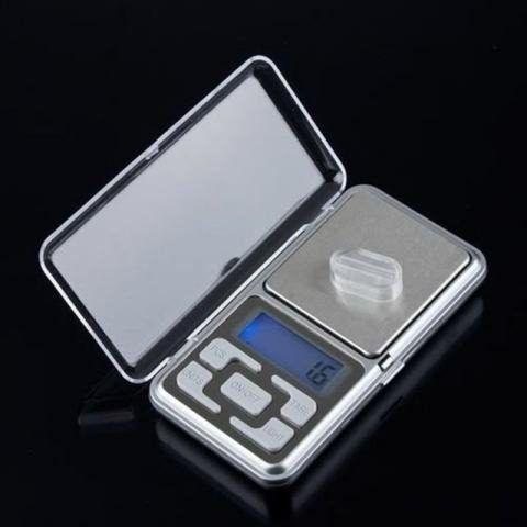 Balança Bolso Digital Precisão Joia Ouro Rubi Diamante Metal