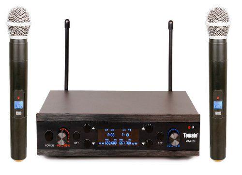 Microfone Duplo Sem Fio Wireless 60 Metros Igrejas Palestras