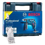 Furadeira Impacto 1/2 C/ Maleta Bosch 5 Brocas 650w Gsb 13re