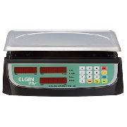 Balança Eletrônica Digital Bateria Bivolt 5g Até 15kg Elgin