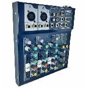 Mesa De Som Dj Mixer Usb Digital 4 Canais Lelong LE-710