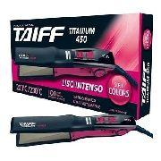 Chapinha Alisadora Taiff Titanium Colors 450 Ion Pink 230C