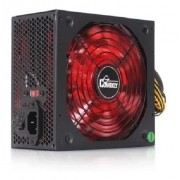Fonte 600w Real Atx Gamer Pc Leds 110v 220v Knup Kp-535
