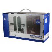 Kit 2 Fechadura Digital Biometrica Teclado Touch Scree Porta