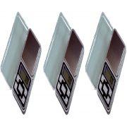 Kit 3 Balança Digital Pesar Prata Ouro Rubi Diamante Aliança