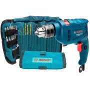Kit Furadeira Bosch Potencia 550w, Jogo 34 Brocas Acessórios