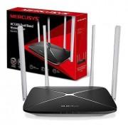 Roteador Conexão Sem Fio Wireless Ac12, Dual Band 4 Antenas