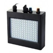 Strobo Profissional Luatek 108 Led Luz Branco Sensor Música