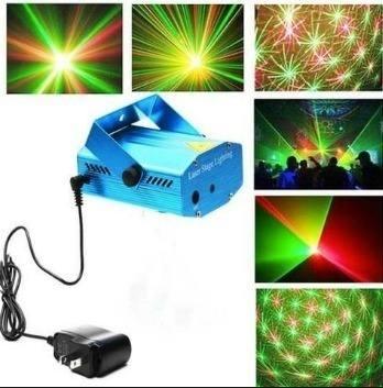 Kit 6 Projetor Holográfico C/ Luz Efeitos Especiais-laser 3d