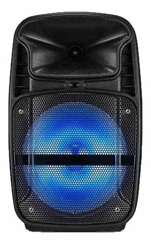 Caixa Amplificadora Multilaser Sp293 80w Preto Bluetooth Mp3