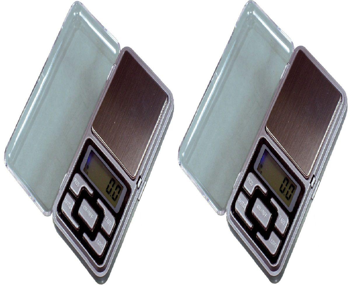 2 Balanças Precisão joias/ouro/pedras Preciosas 500g X 1g