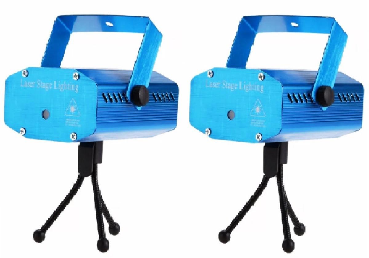 2 Projetor Holográfico Laser Balada Com Efeitos Especiais