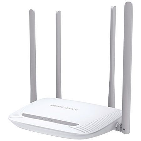 Roteador De 300mbps 4 Antenas Potente Pc Not Celular Tablets