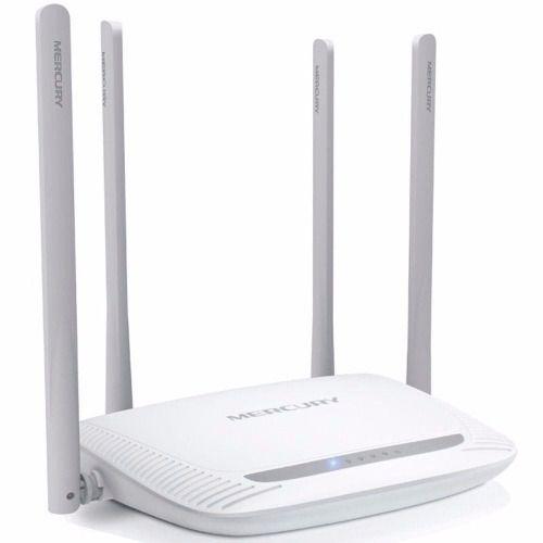 Roteador Mercusys MW325R 300Mbps 4 Antenas Fixas Internet