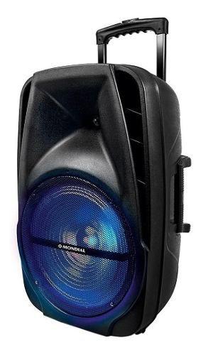 Caixa de Som Amplificada Mp3 Mondial CM-14, 400W, Woofer 12
