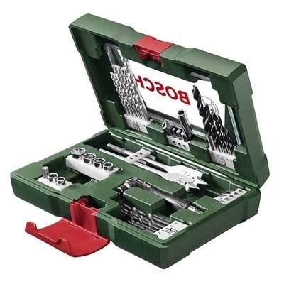 Caixa Jogo Kits Maleta De Ferramentas Brocas Bits + Soquetes