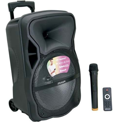Caixa amplificada Bluetooth CM 600 Frahm 600 watts Potência