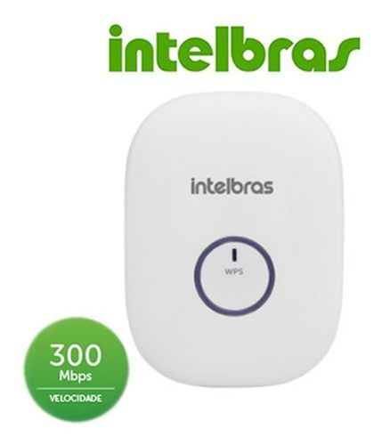 Repetidor De Internet wireless 300mbps Intelbras IWE 3000N