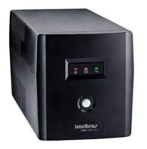 Nobreak Eletrônico Intelbras Xnb 1440va Preto Com 6 Tomadas