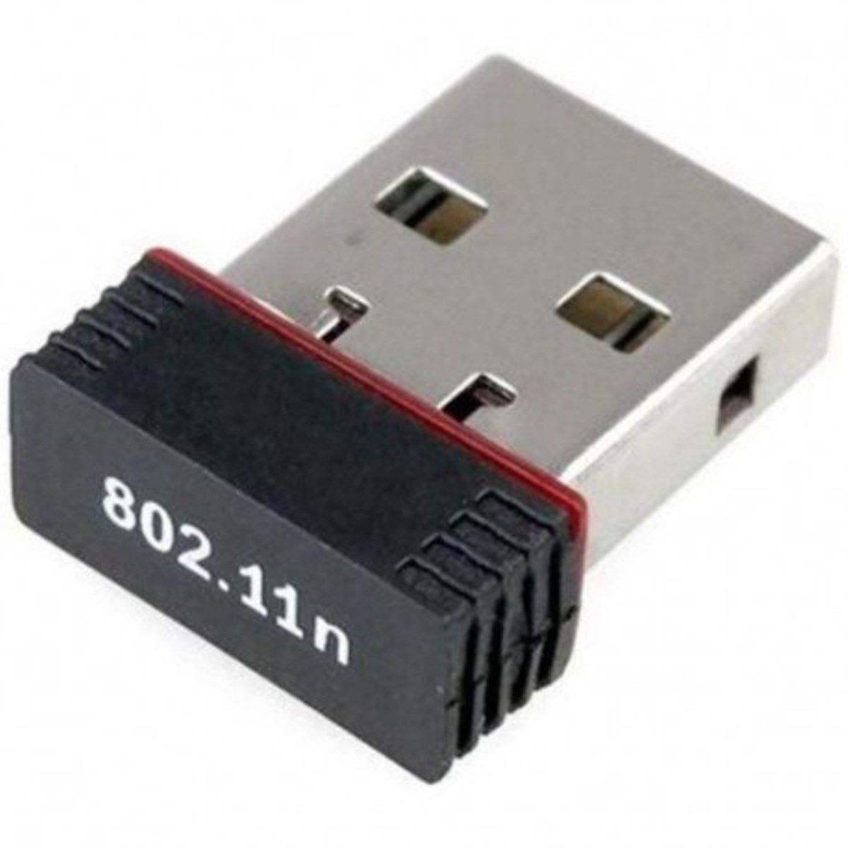 Adaptador Wireless 950mbps Compatível Com Receptores Pc Not