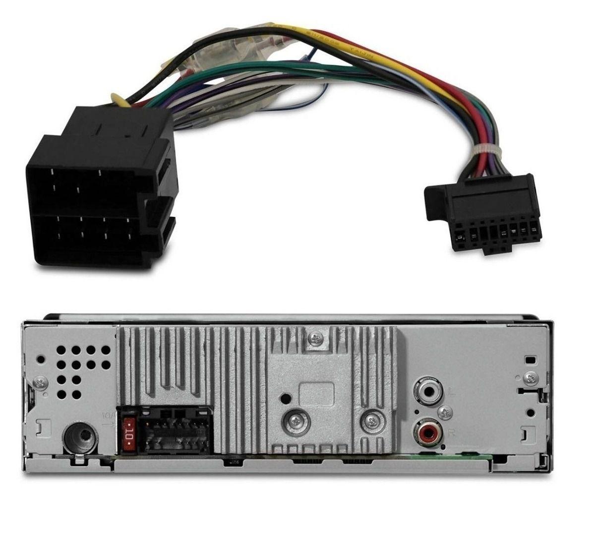 Aparelho De Som De Carro Pioneer C/ Bluetooth Automotivo Mp3