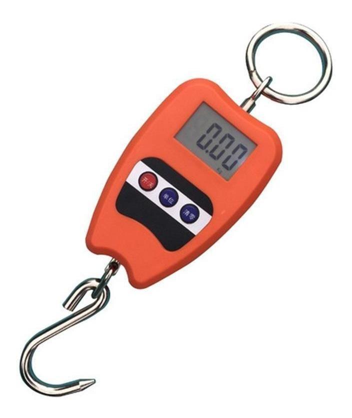 Balança 200 Kg de Gancho Suspensa Portátil Mini Crane Scale