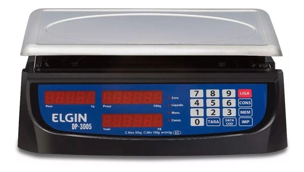 Balança 30Kg 5G Panificadora Confeitaria, Cozinha Industrial