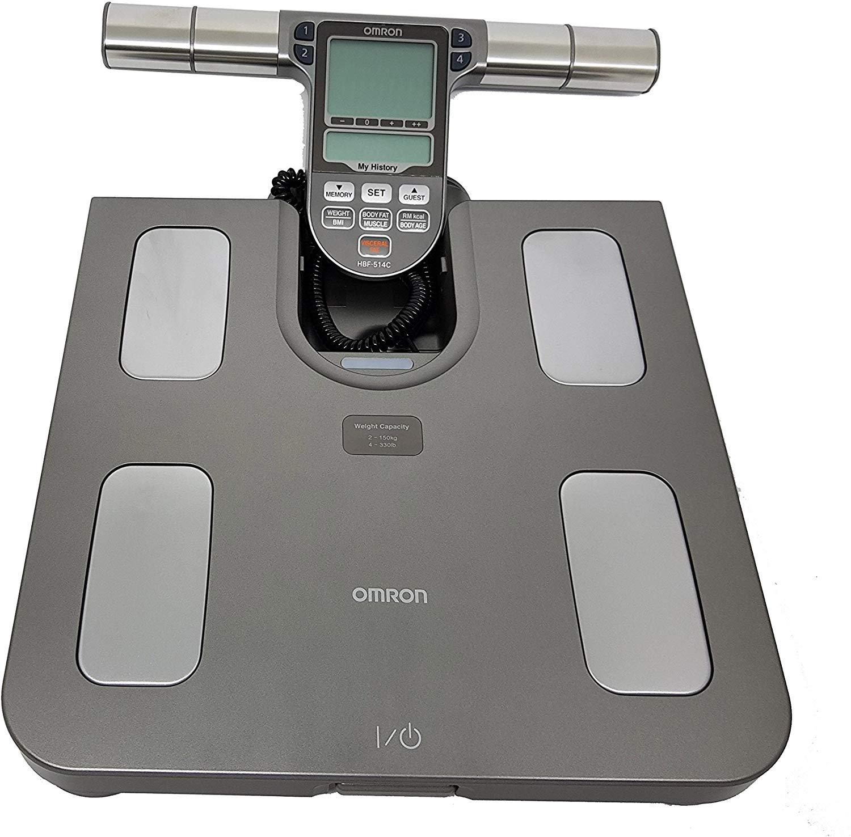 Balança de Bioimpedância Omron 150Kg Controle Saúde Fitness