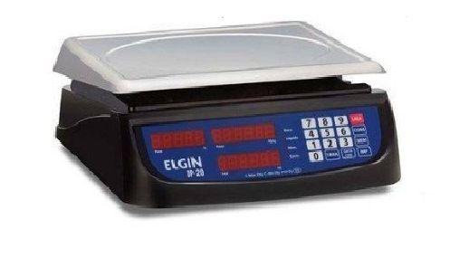 Balança Elgin 20Kg Com Bateria Restaurantes Hipermercados