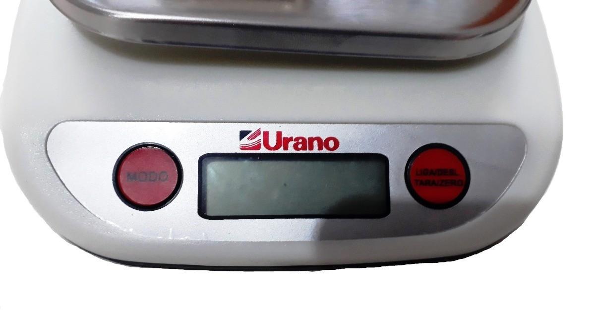 Balança Urano 1gr ate 5Kg Casa Pesar Massas Fermento Bolos