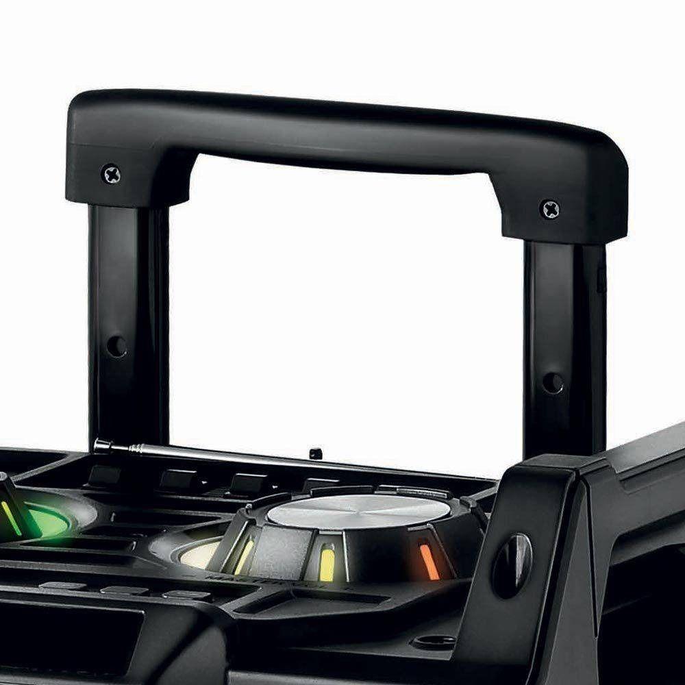 Caixa De Som Alta Qualidade Portátil Amplificada Mp3 P10 Aux