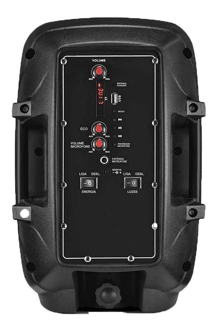 Caixa De Som Bluetooth Amplificada Subwoofer 80 W Potência.