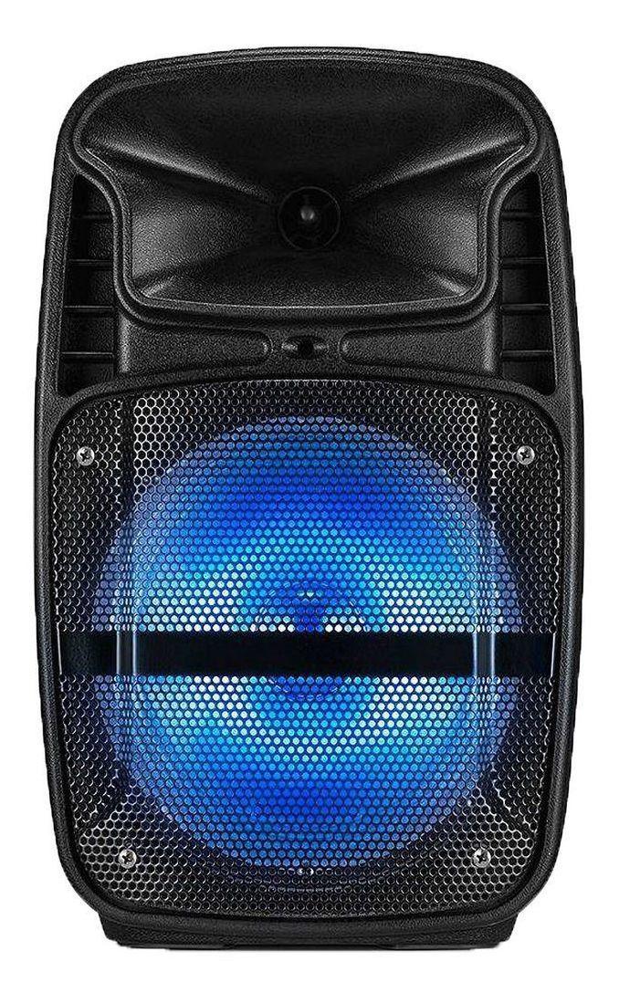 Caixa Som Amplificada Bluetooth Microfone Micro Sd Aux Fm Nf