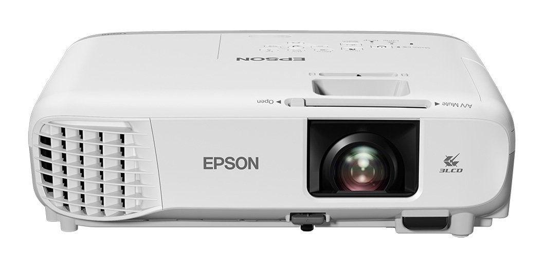 Projetor Epson Powerlite X39 3500 Lumens Xga Bom Bares Jogos
