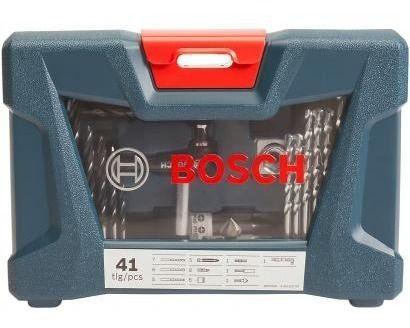 Jogo De Ferramentas Bosch C/ 41 Peças E Maleta Boa Qualidade