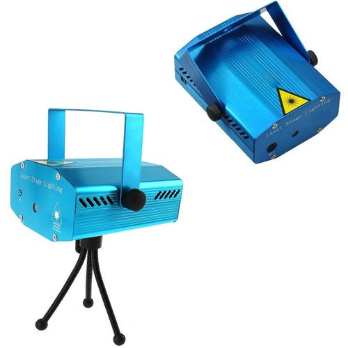 Kit 10 Mini Projeto Holográfico Laser Clube Efeitos Luminoso