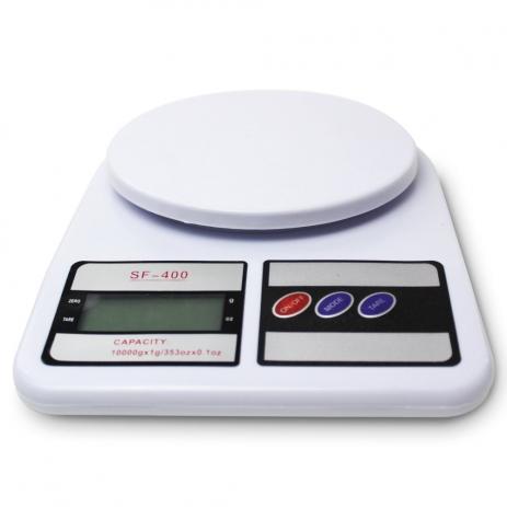 Kit 2 Balança Precisão 1g 10kg Tara Pesar Alimentos, Legumes