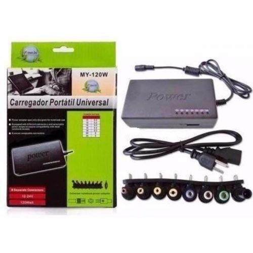 Kit 2 Carregador Fonte Universal Notebook, Tv Monitores 120w