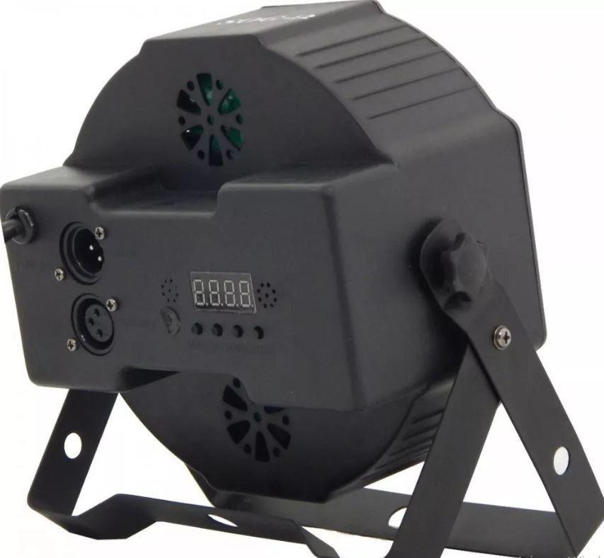 Kit 2 Refletor Canhão Luzes Dj 36 Leds Eventos Salões Dmx512