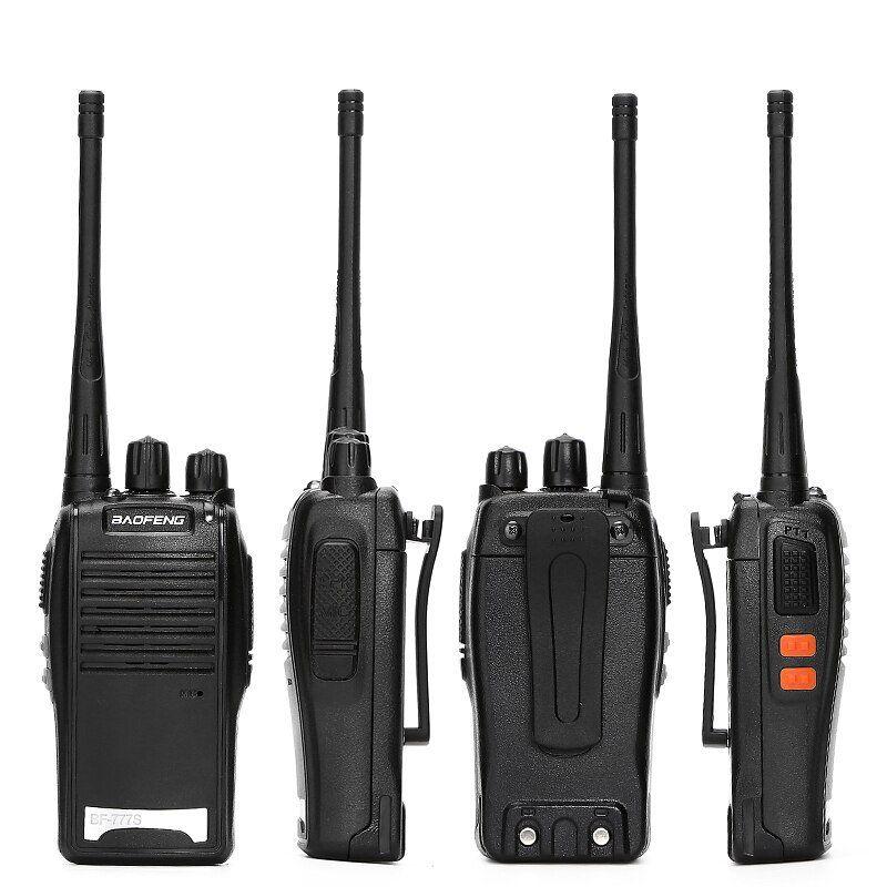 Kit 4 Radio Comunicador 16 Canais Empresas Alcançe Ate 3 Km
