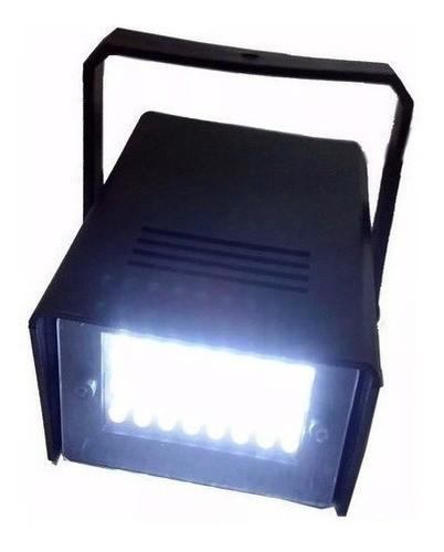 Kit 6 Projetor Luz Led Branco Frio Efeito Festa Balada Palco